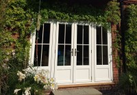 Folding french doors exterior - The door that brings the ...