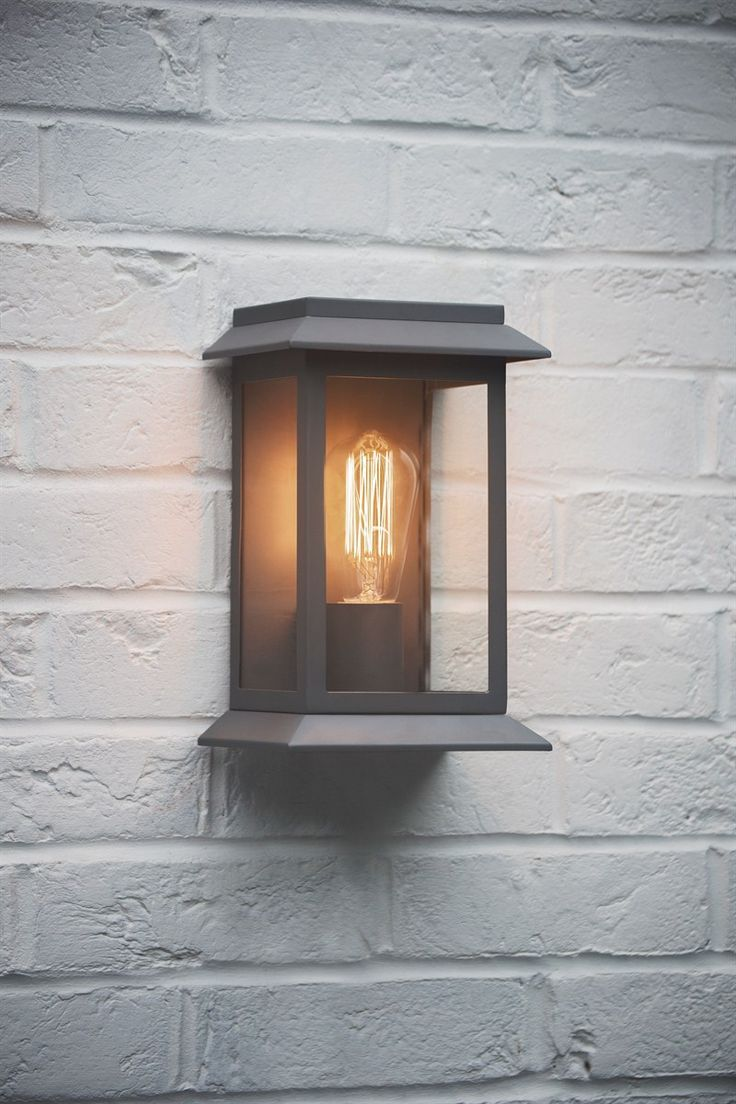 Impressive Outdoor Wall Lights with Built