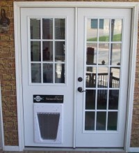 TOP 20 custom and classic French doors with dog door ...