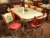 Antique Kitchen Table And Chairs | Antique Furniture
