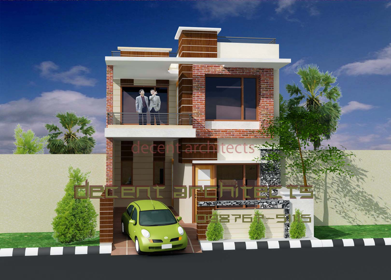 House Design Exterior Interior Exterior Plan Decent Small House