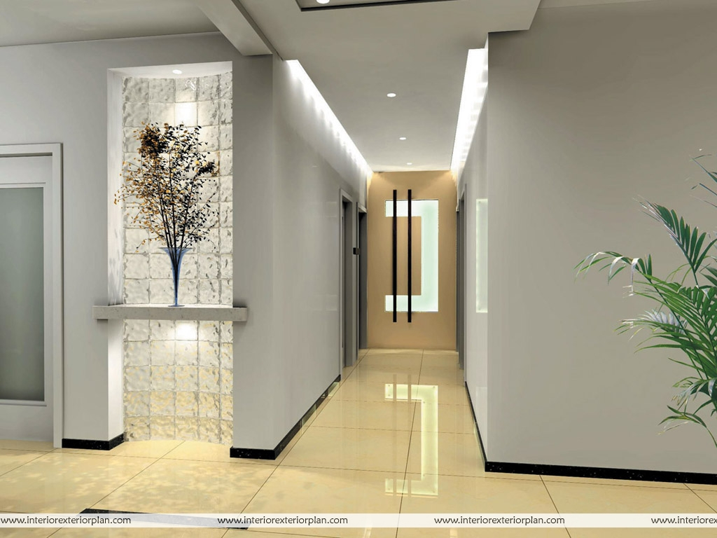 Homes Interior Designs Interior Exterior Plan Corridor Type House Interior Design