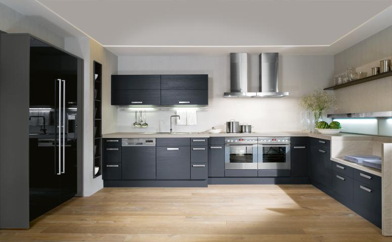 Küche Schwarz Matt Interior Exterior Plan | Make Your Kitchen Versatile With
