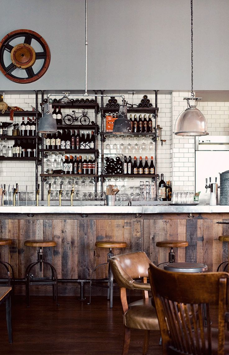 Rustic Style Bar 17 Industrial Home Bar Designs For Your New Home Interior God