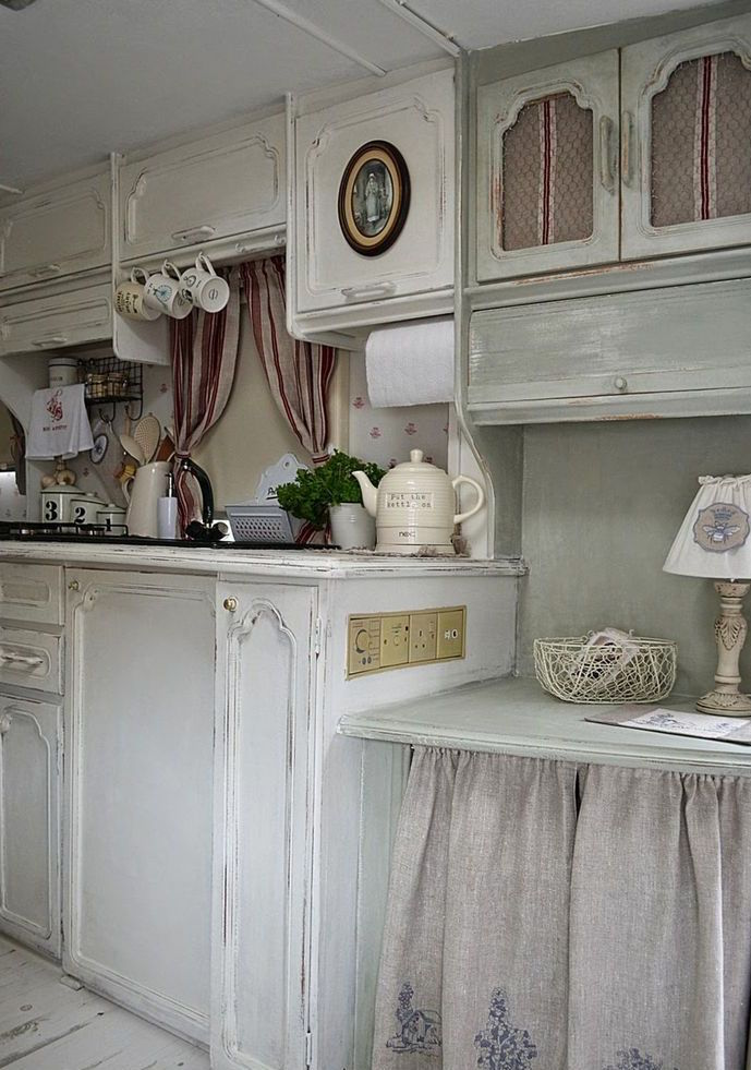 Inspiration Wohnzimmer 25 Cute Shabby Chic Kitchen Design Ideas | Interior God