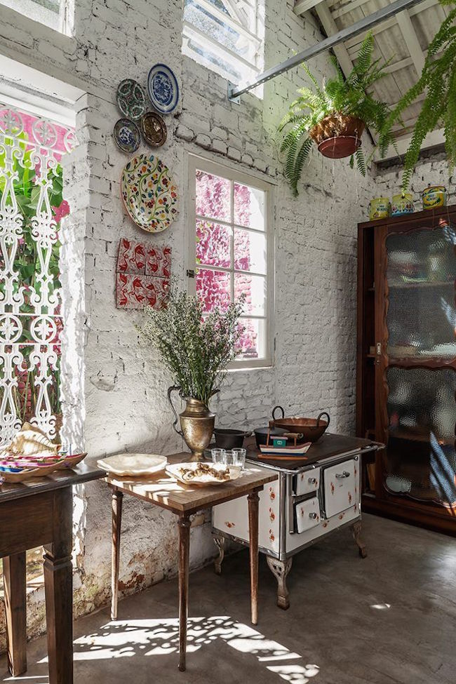 Hippie Boho Style 41 Colorful Boho Chic Kitchen Design Ideas | Interior God
