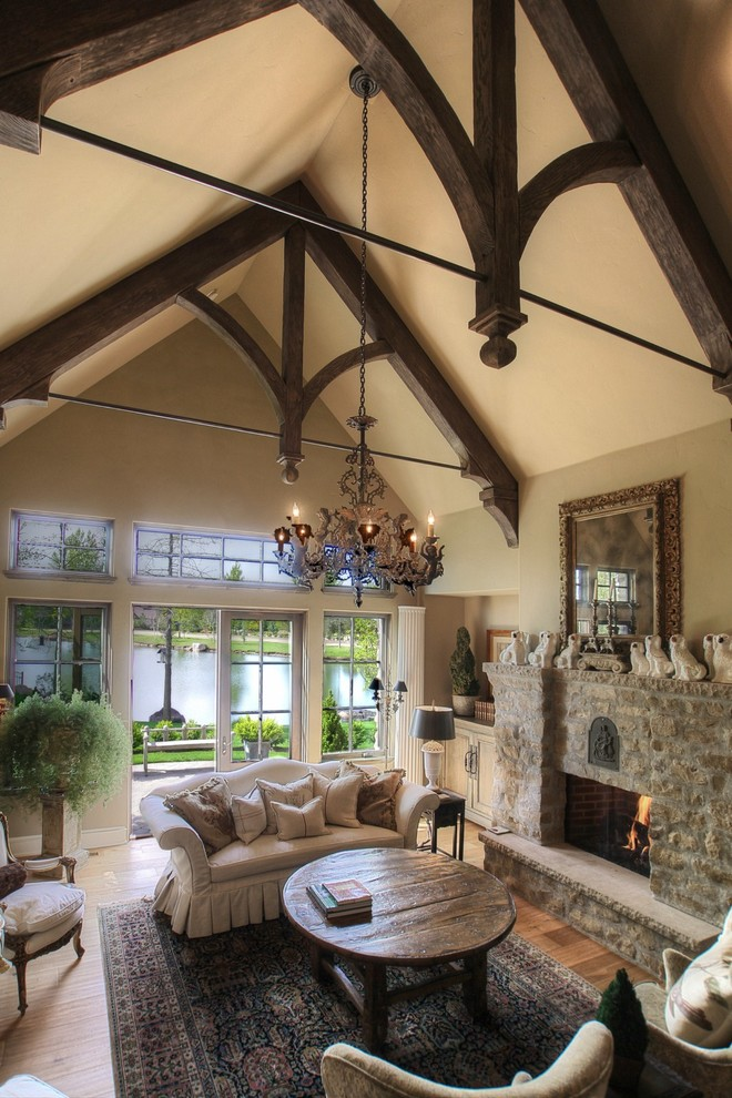 Fireplace Room Divider 23 Living Room Designs With Vaulted Ceiling To Get
