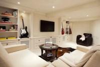 15 Utterly Bold and Sleek Attic Living Room Design Ideas ...