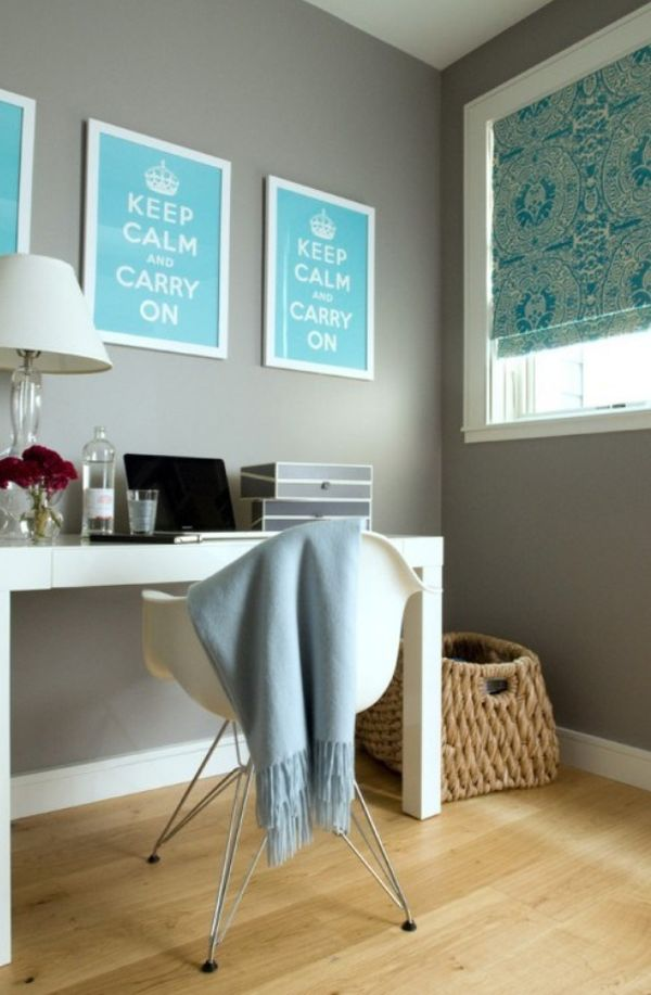 Kussen Interieur Poster Keep Calm And Carry On — Interiorinsider.nl