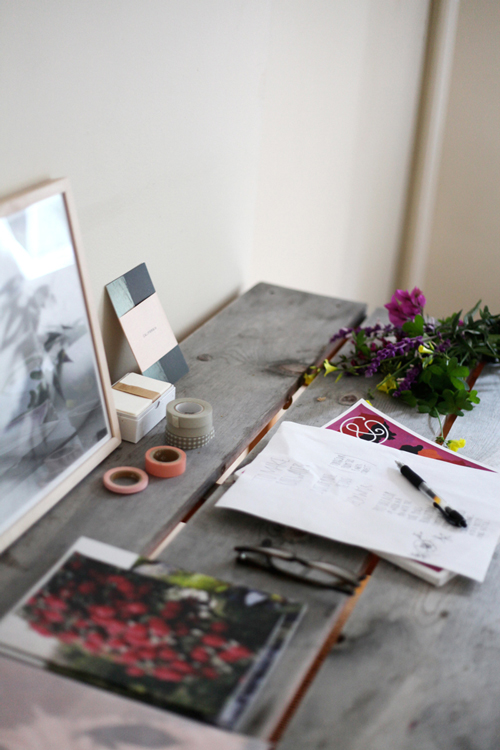 mesa de trabajo / workspace