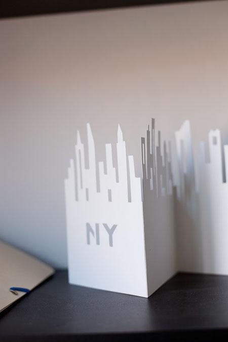 Troquel del skyline de Nueva York