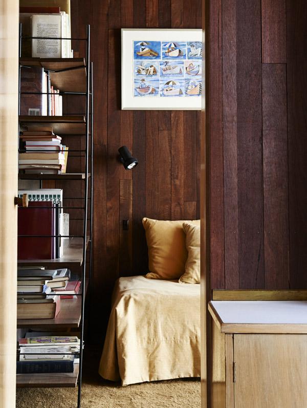 Dormitorio infantil en el pabellón dedicado.