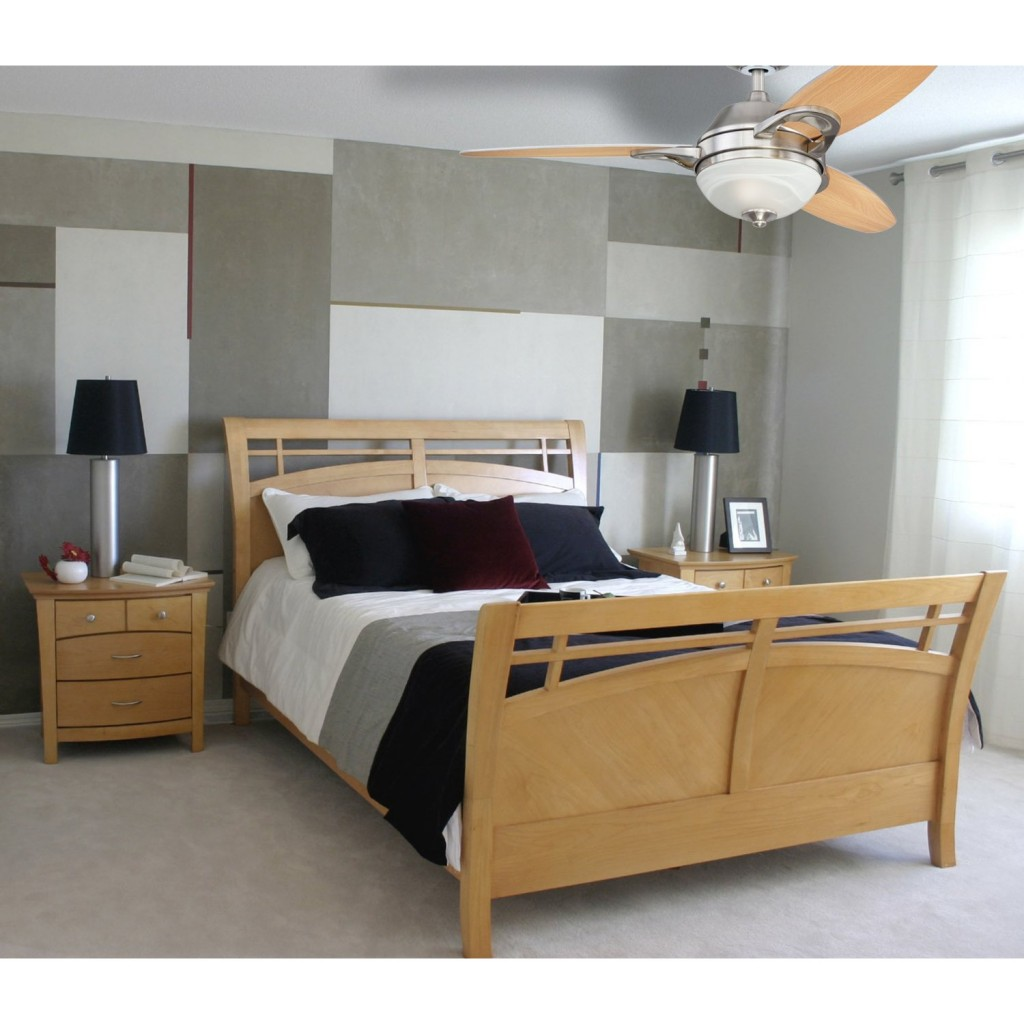 Bedroom Fan Lights Room Temperature And Effective Lighting Ceiling Fans