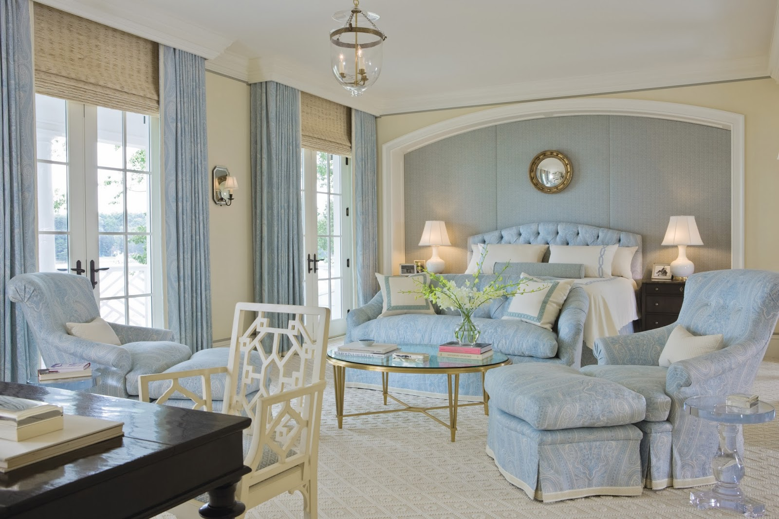 Light Blue Bedrooms Ideas Classic Light Blue Bedroom Design Interiors By Color