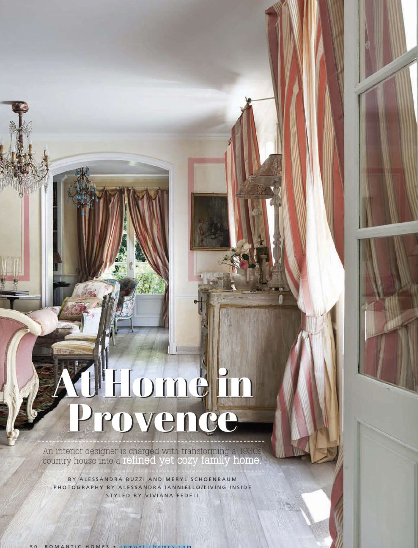 Bathroom Color Schemes At Home In Provence - Interiors By Color