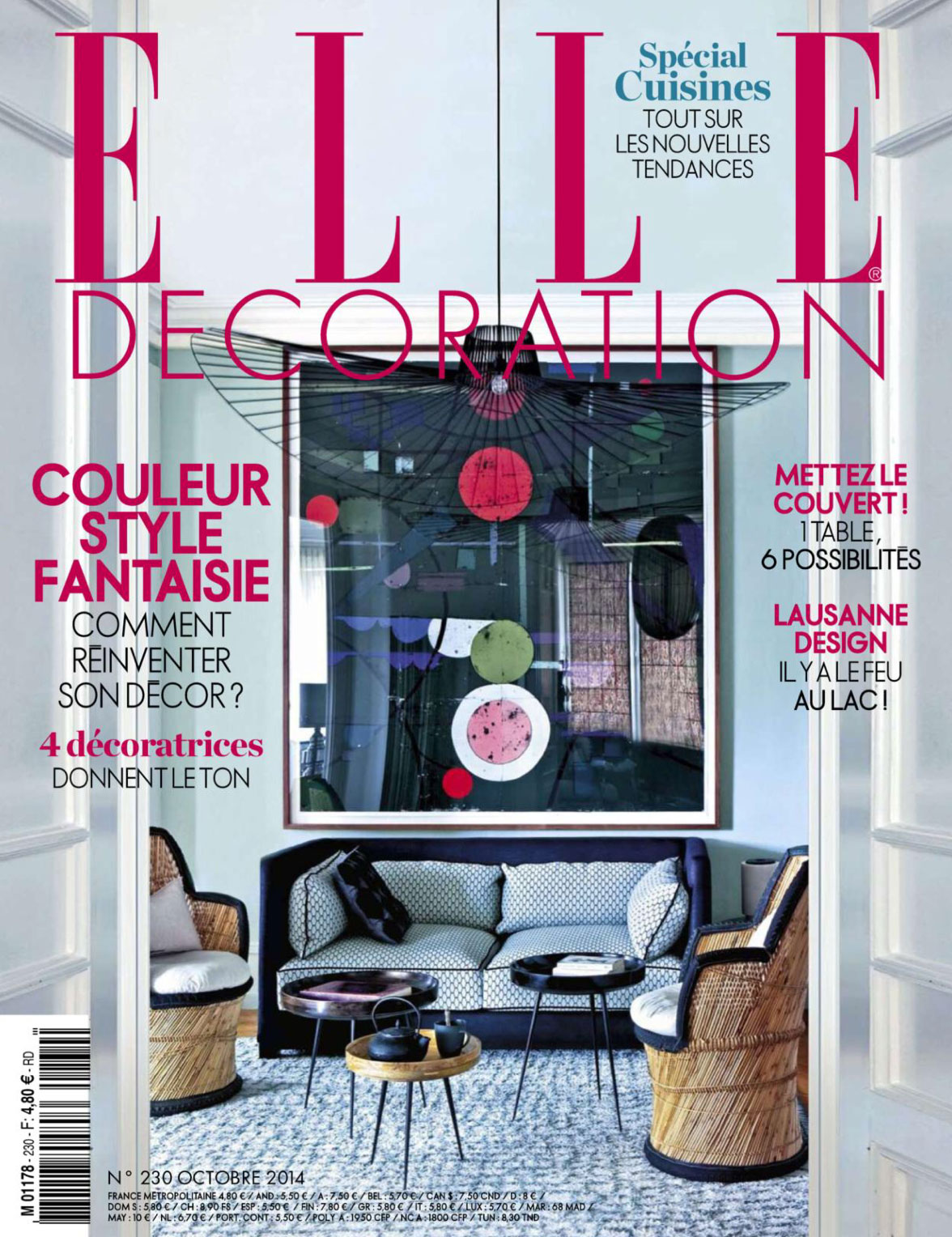 Elle Decoration France Elle Decoration France October 2014 Interiors By Color