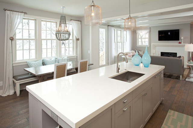 Wickham Gray 12 Beautiful Gray Kitchen Cabinets - Interiors By Color