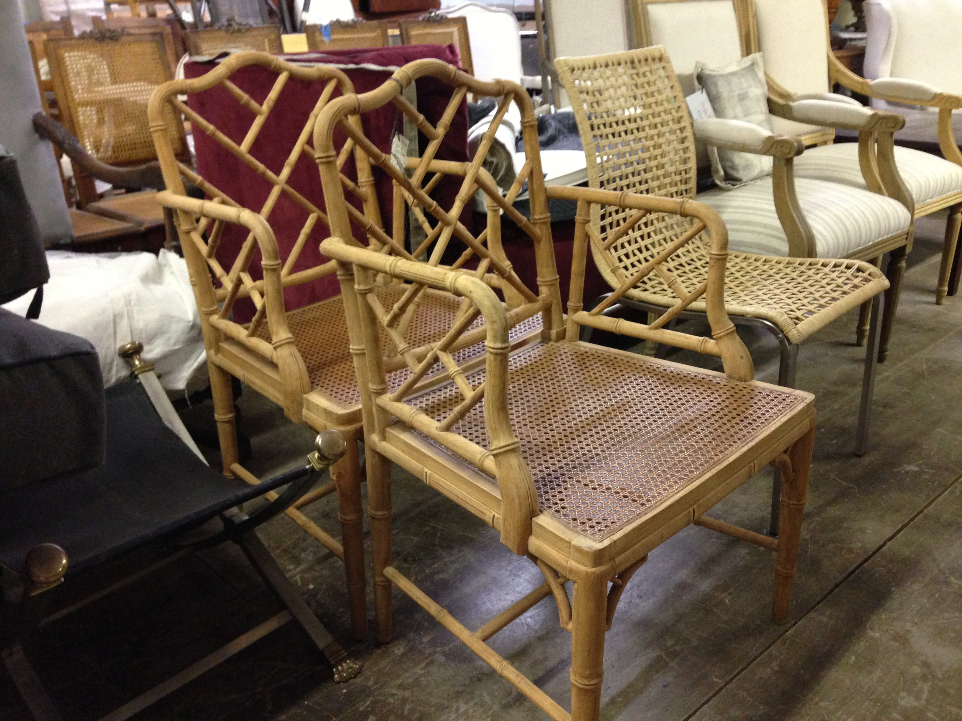 Bamboo chippendale chairs -  Bamboo Chinese Chippendale Chairs Berkshire Home U0026 Antiques Download