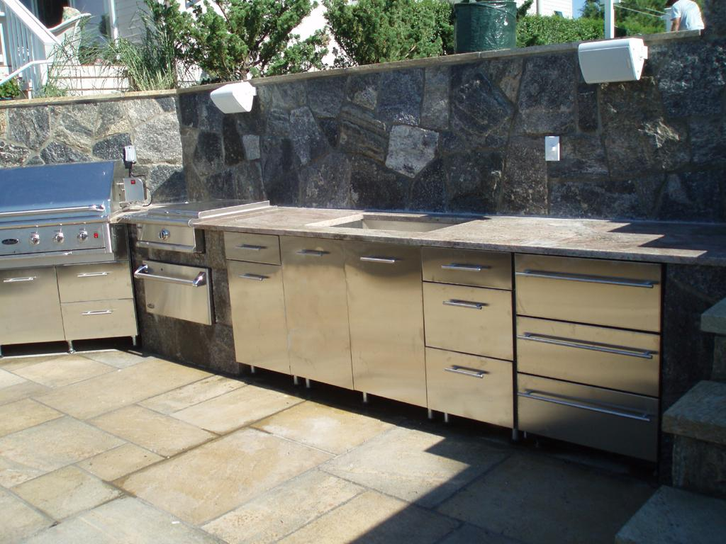 Outdoor Stainless Steel Cabinets 26 Mindblowing Outdoor Kitchen Cabinet Ideas Interiorsherpa