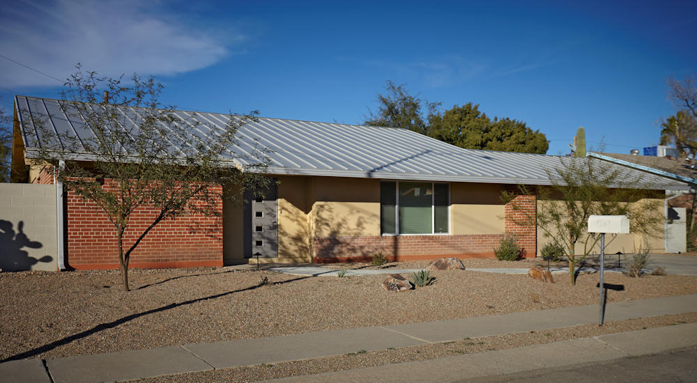 Brick And Stucco House Exterior Remodel Tucson Az