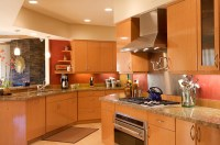 maple kitchen cabinets contemporary  Roselawnlutheran