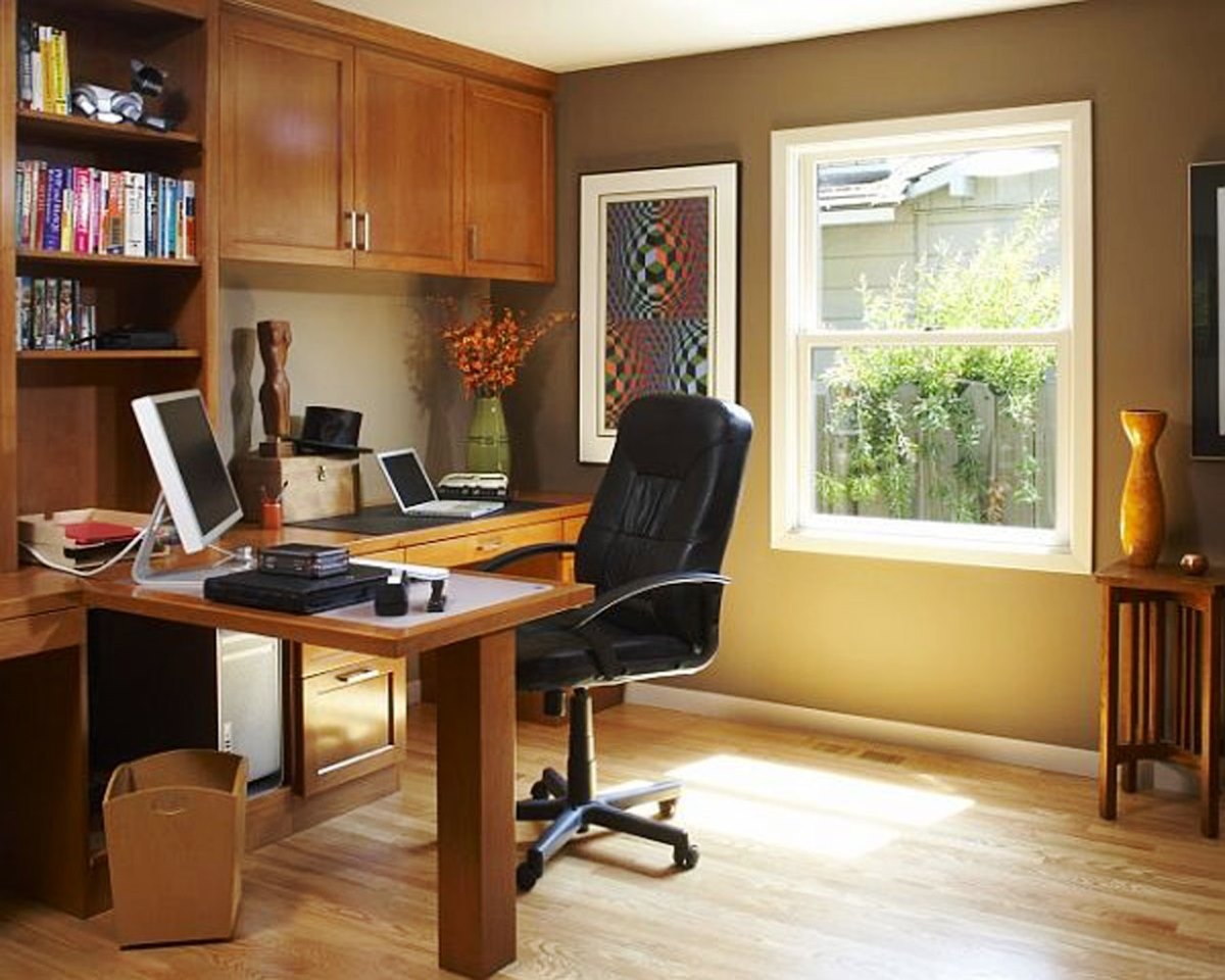 Home Office Decorating Photos Home Office Decorating Ideas For Comfortable Workplace