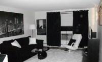 Beautiful Black And White Living Room Designs - Interior Vogue