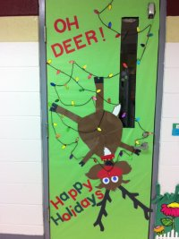 25 Marvelous Classroom Decoration For Christmas - Interior ...