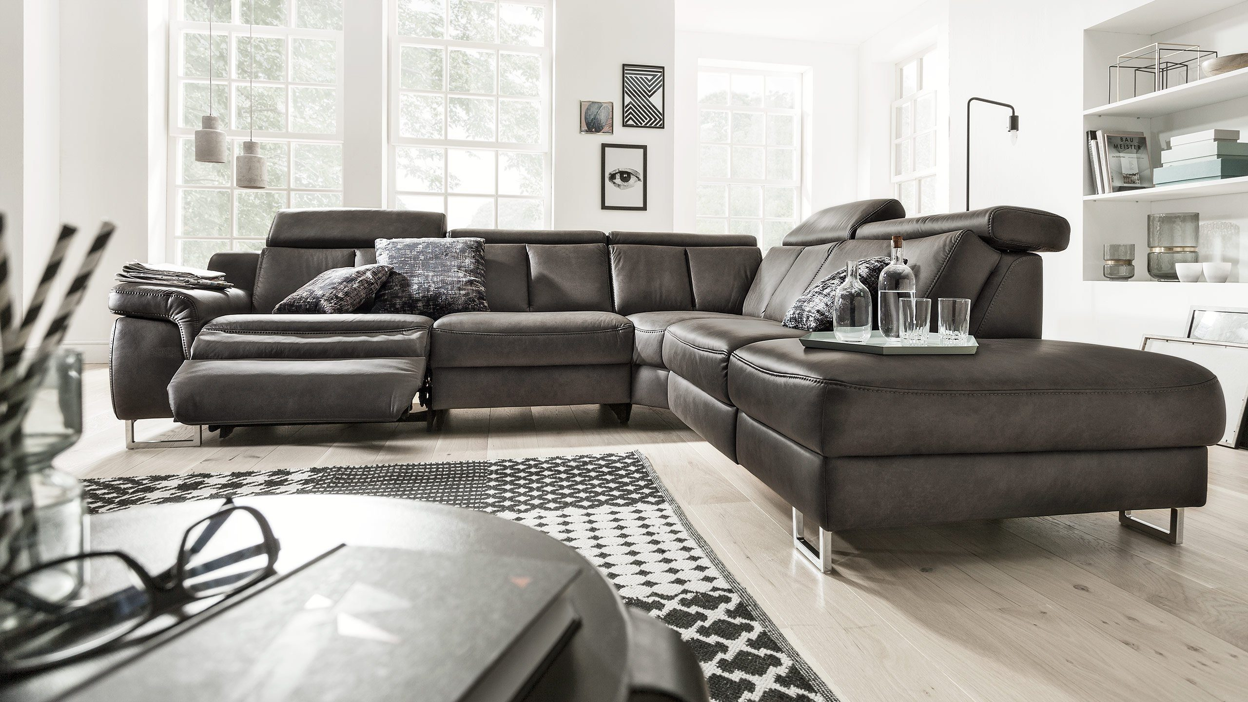 Interliving Ecksofa Ein Sofa Als Verwandlungskünstler Interliving