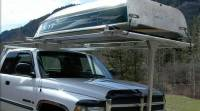 Front Boat Loader Rack for Pickup/Fifth wheel towing ...