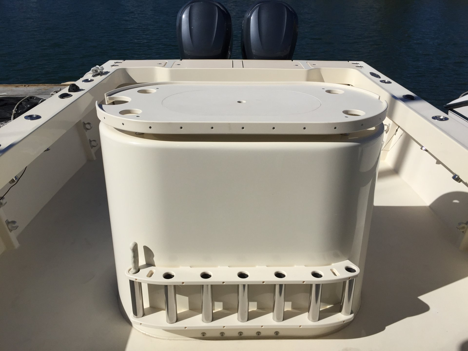Twin Bed With Storage 2006 Parker 2820 Xld Sport Cabin Fishing Boat | Bloodydecks