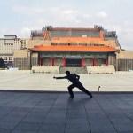 Xingyi practise at CKS park Taiwan.