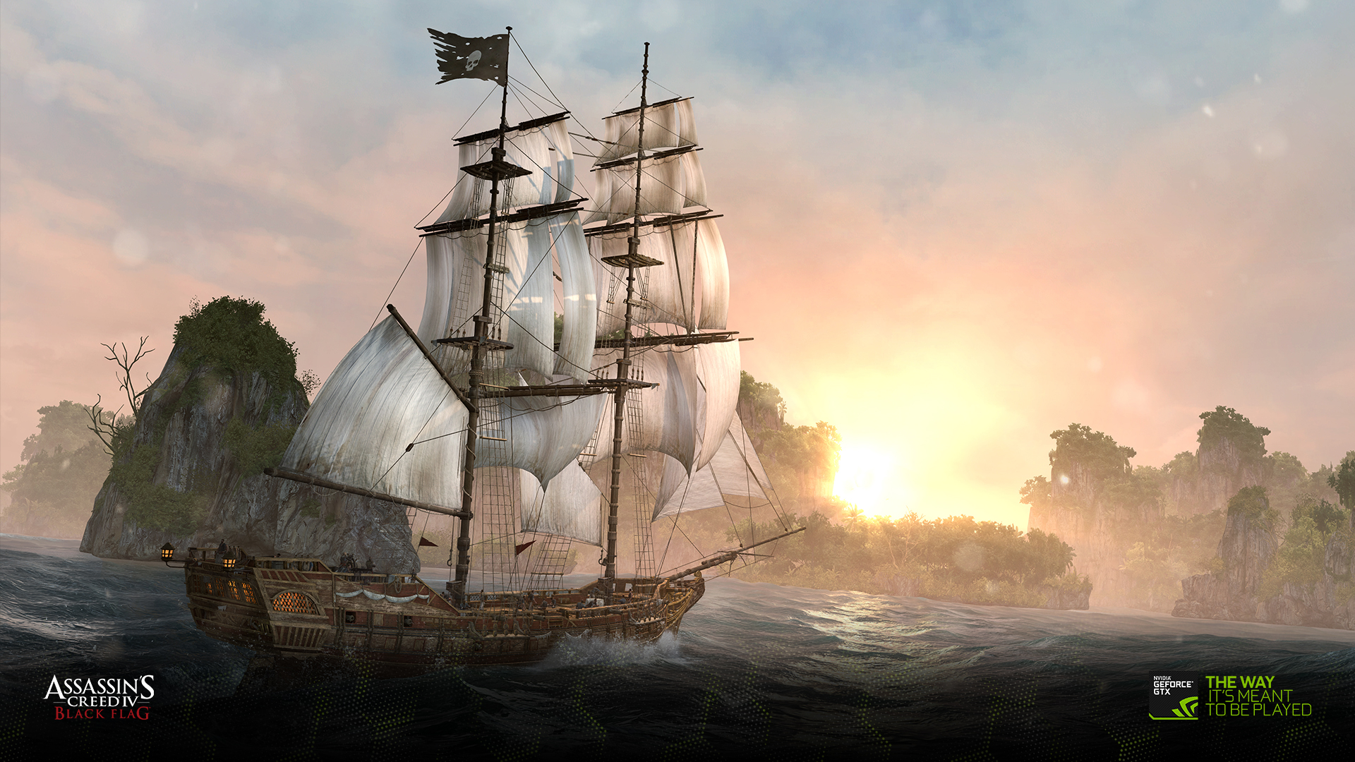 Stunning Black Wallpapers Download The Assassin S Creed Iv Black Flag Wallpapers