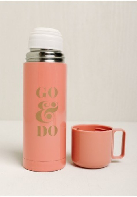 This encouraging thermos:
