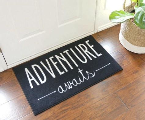 This encouraging mat:
