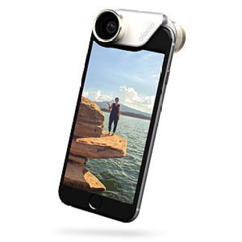 This clip-on camera for your phone: