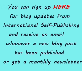 sign up for International Self-Publishing news
