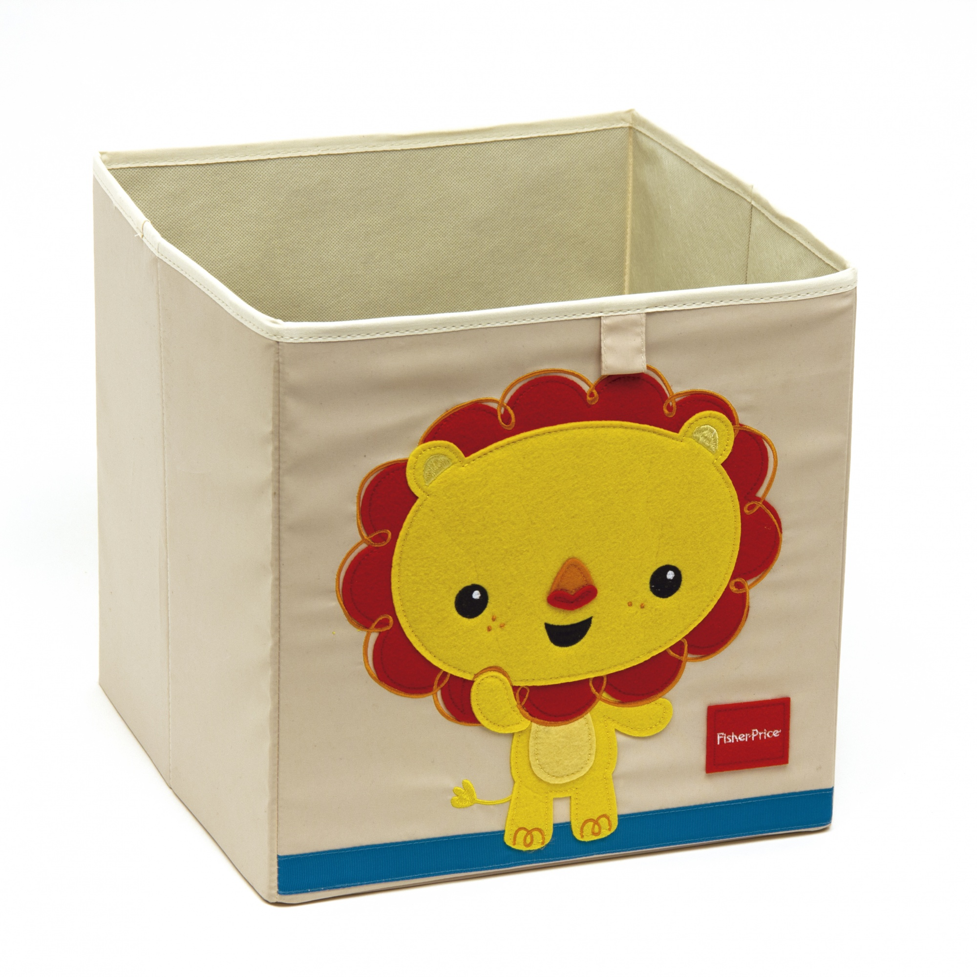 Opbergbox Plastic Storage Box Lion 36 Liters White