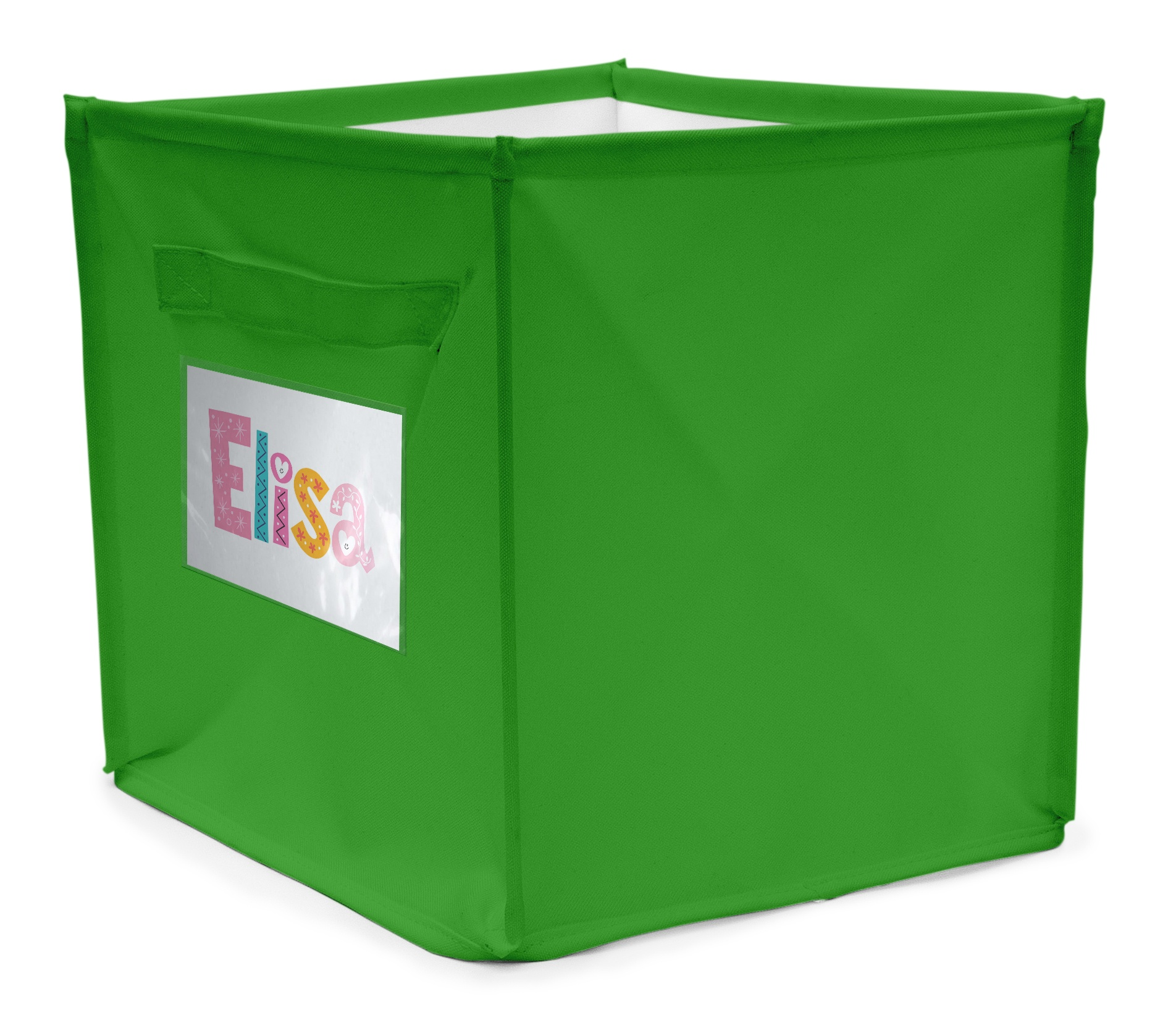 Opbergbox Plastic Personal Storage Box 22 Litres Green