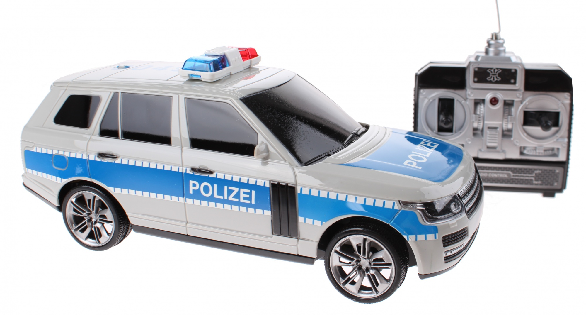 Peuter Buitenspeelgoed Toi-toys Rc Politieauto Duits 24 Cm - Internet-toys