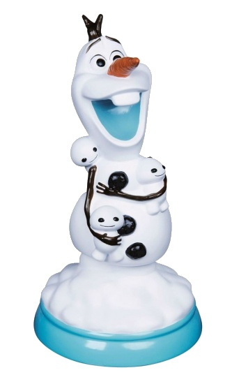 Micro Led Verlichting Disney Lamp Frozen Olaf 32 Cm Wit - Internet-toys