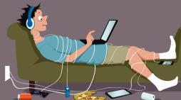 Jóvenes internautas son adictos a sus dispositivos