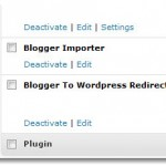 Instalación del plugin Blogger to WordPress