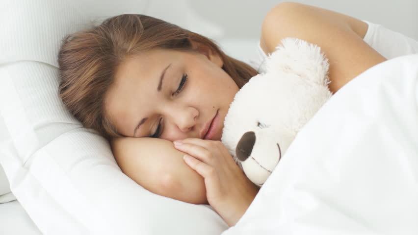 Sleeping Baby Girl Wallpaper Contact Dream Flexible Polyurethane Foam Interplasp