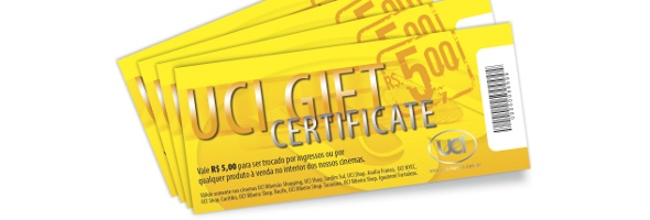 uci gift certificate