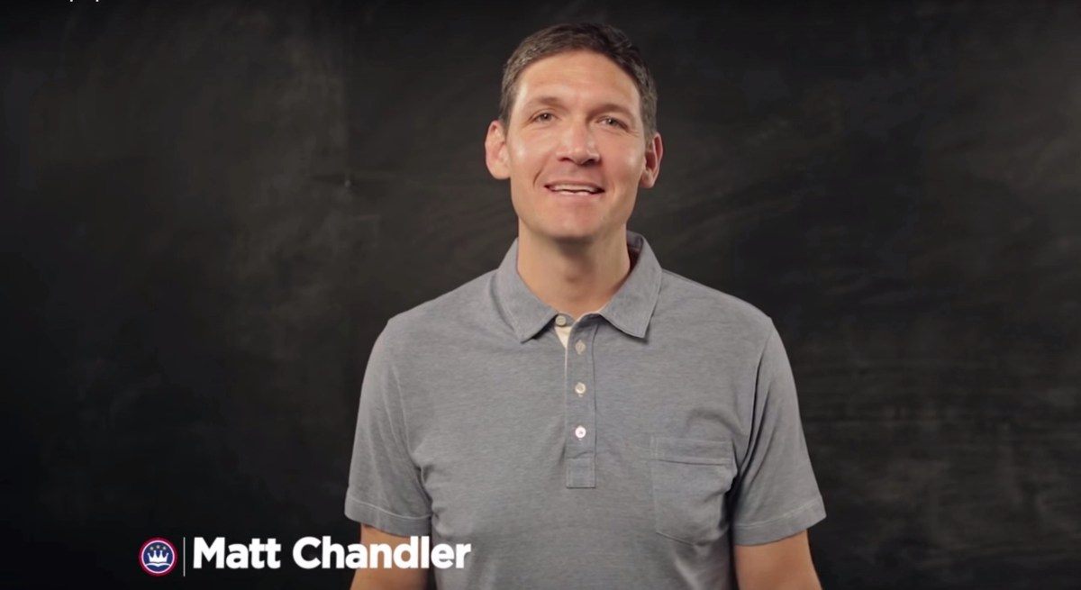 """The Church Must Be a Place Where It's Okay Not To Be Okay."" Matt Chandler on Homosexuality & the Church"