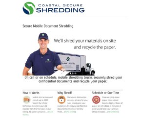 Coastal Secure Shredding