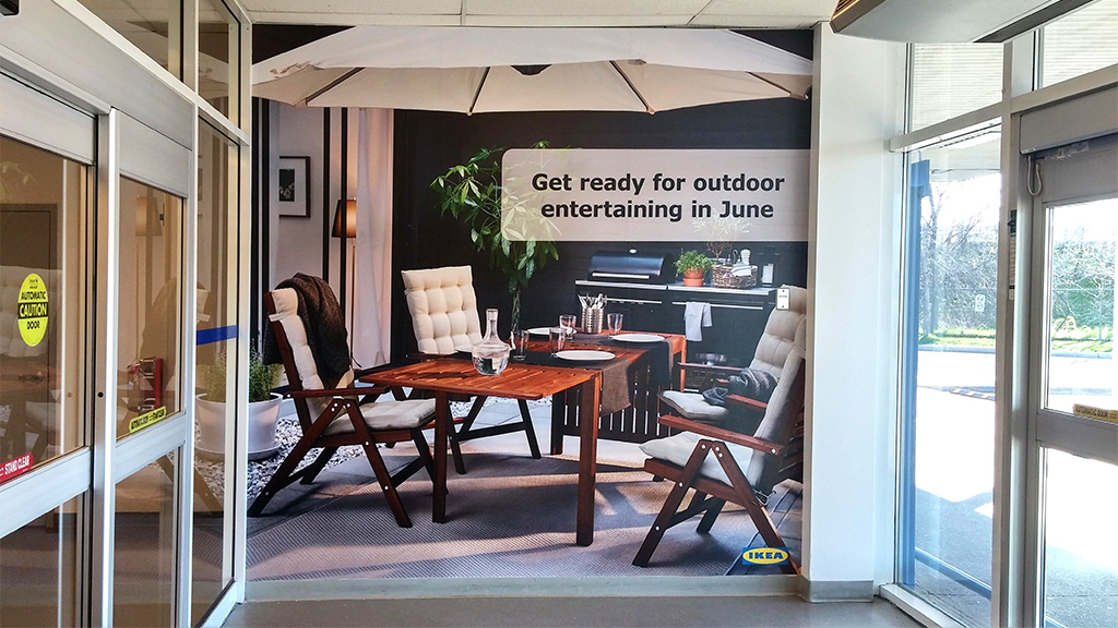 Ikea Burlington Ikea-burlington-showroom | Intersign Canada
