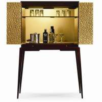 9 Cool Bar Carts & Cocktail Cabinets to Ring in the New Year!