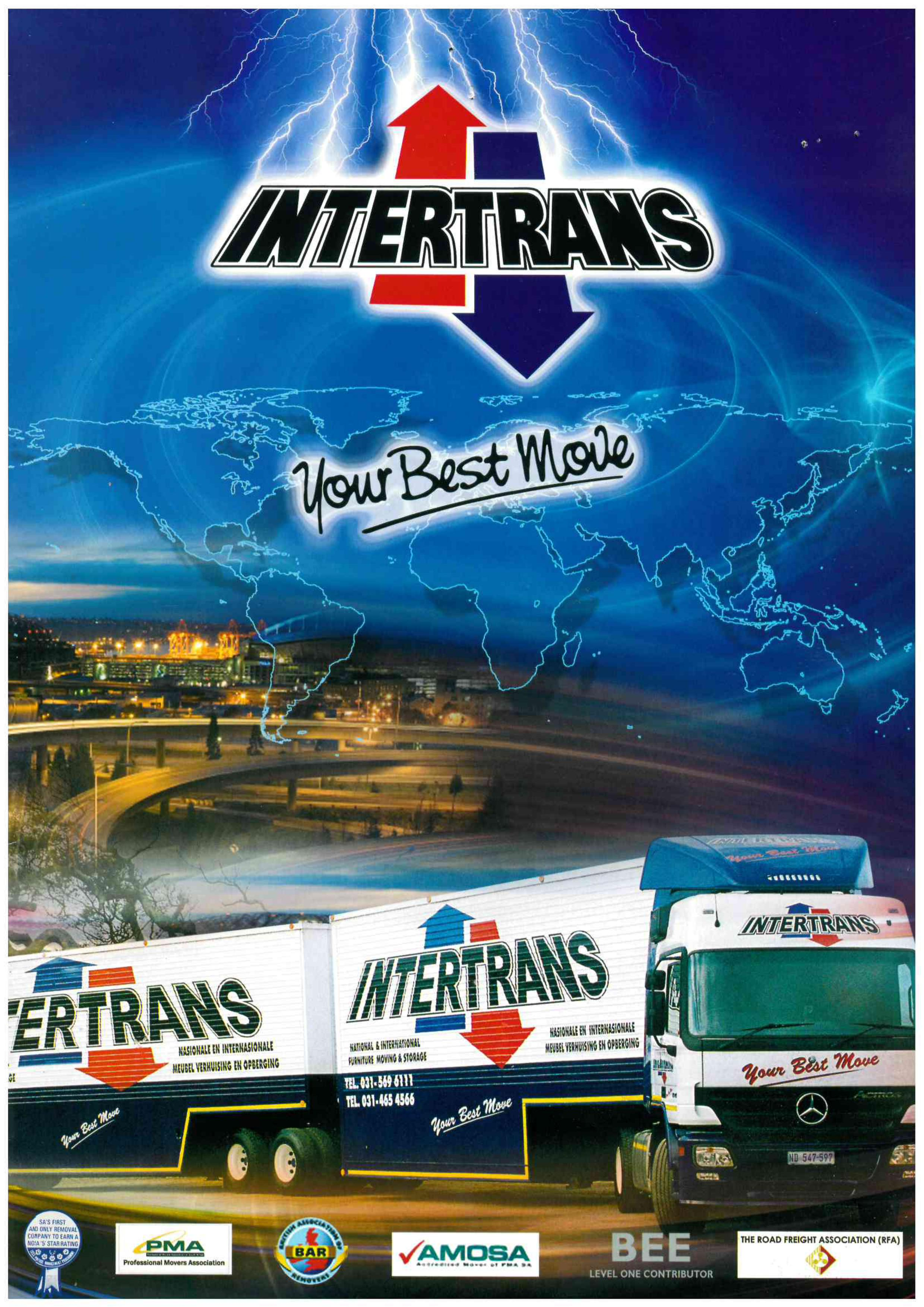 Intertrans Furniture Removal Worldwide Moving Company
